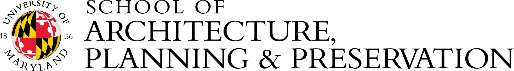 School of Architecture, Planning & Preservation logo