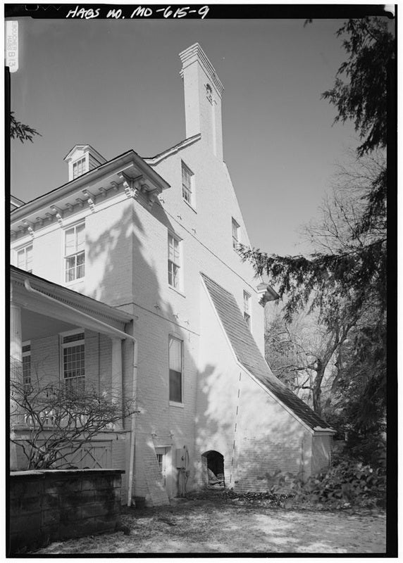 Black and white image of the bostwick buttress