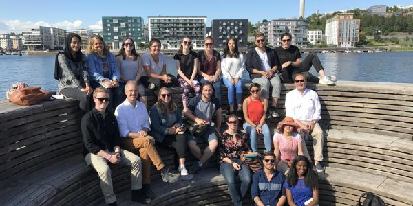 Scandinavia education abroad trip, group photo