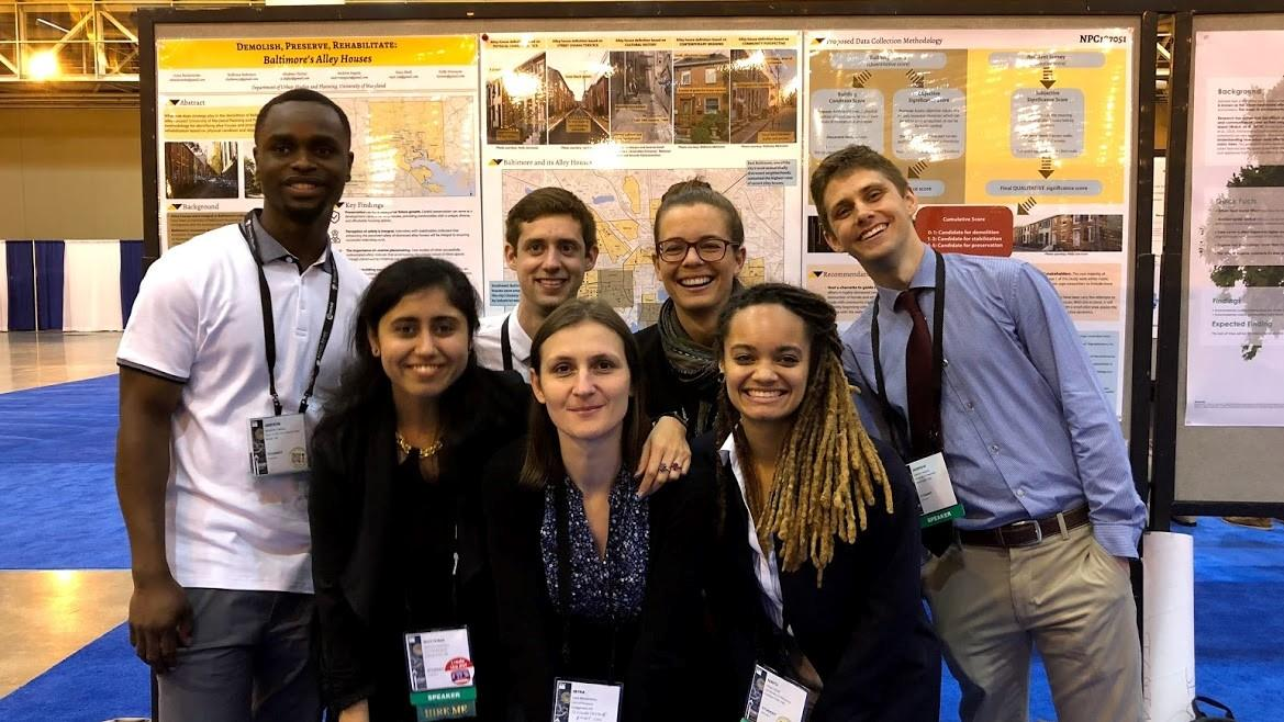 Planning Students Present at the 2018 National Planning Conference