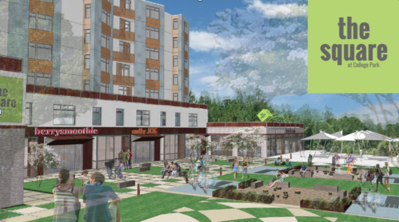 Click for more information about The Square: Connecting Neighbors + Nature in College Park, MD