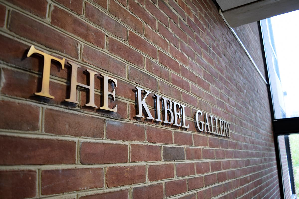 The Kibel Gallery Signage