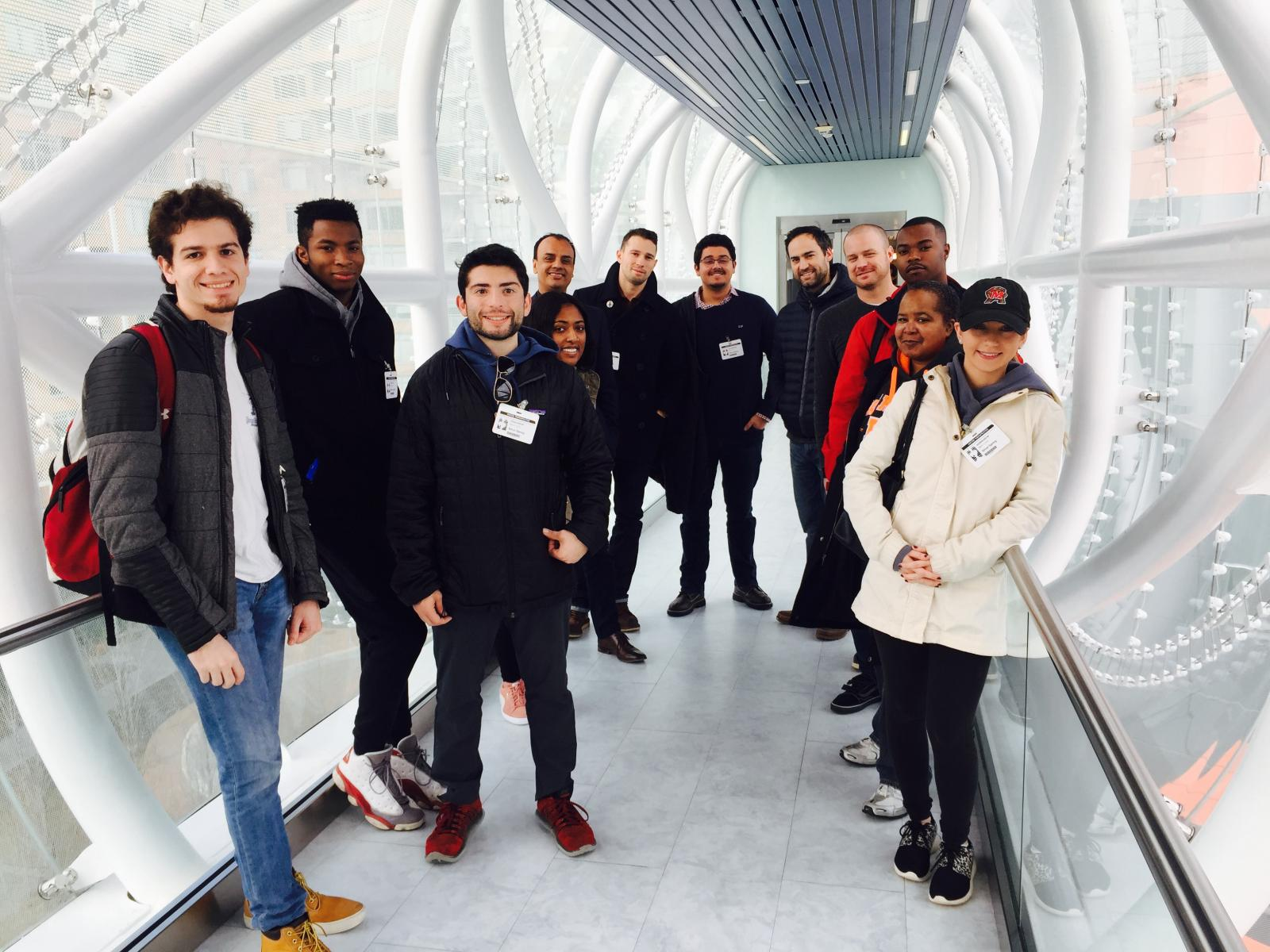 Students Visit United Therapeutics Office