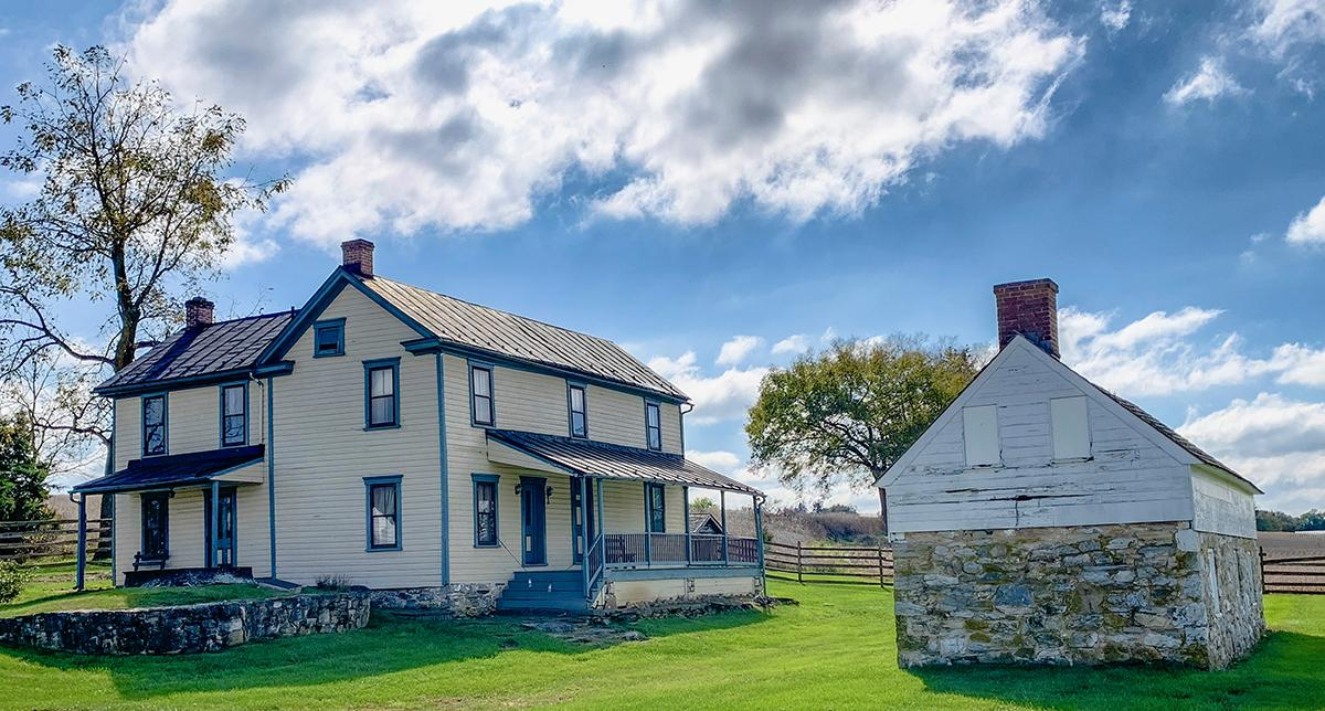 Grave Davenport's final project on Historic Structure Investigation: The Piper House, Antietam National Battlefield