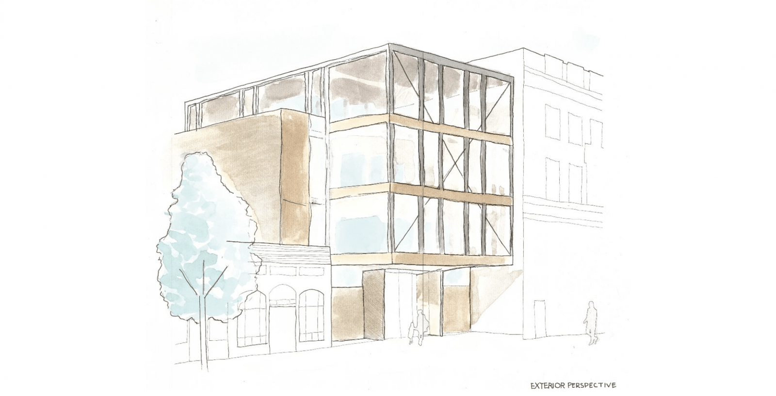 Baltimore AIA 2020 Awards rendering of building